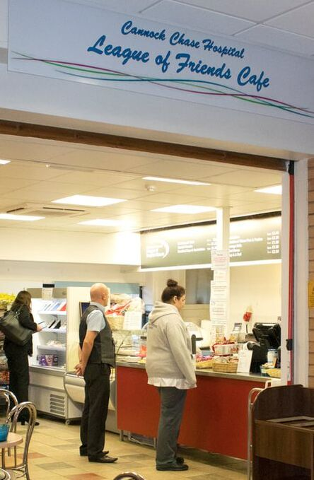 Friends Cafe Cannock Hospital